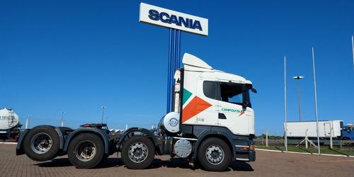 scania r440 8x2 + carreta
