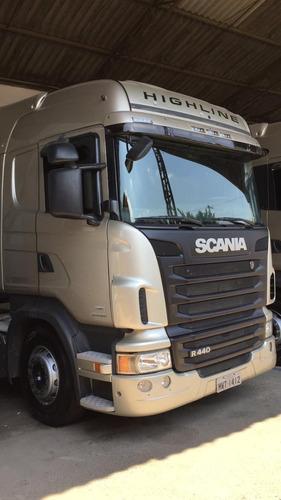 scania r440 highline 2013 6x4 ano 2013 único dono 275.000.00