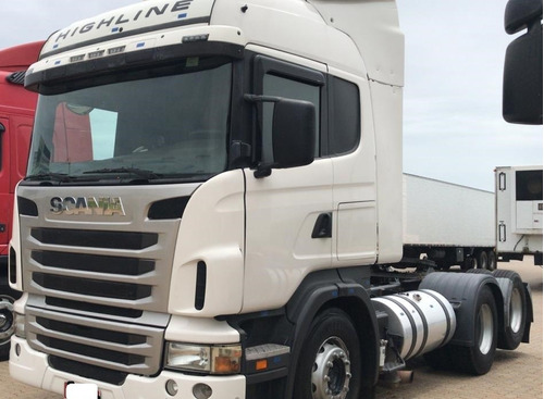 scania r440 high/stremline  6x4 2018