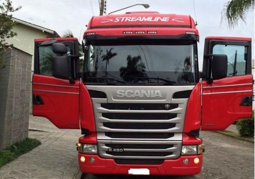 scania r480 streamline 6x4 2018