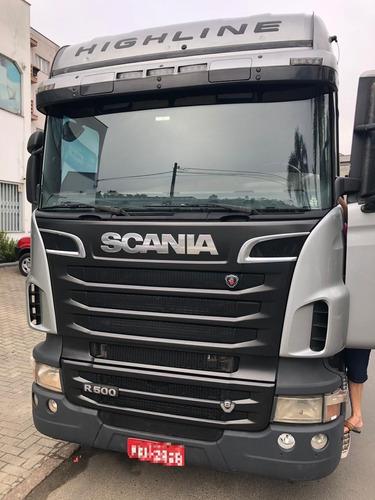 scania r500 6x4 automático, sem arla
