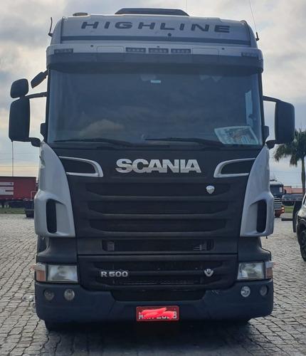 scania r500 higline 6x4 ano 2012