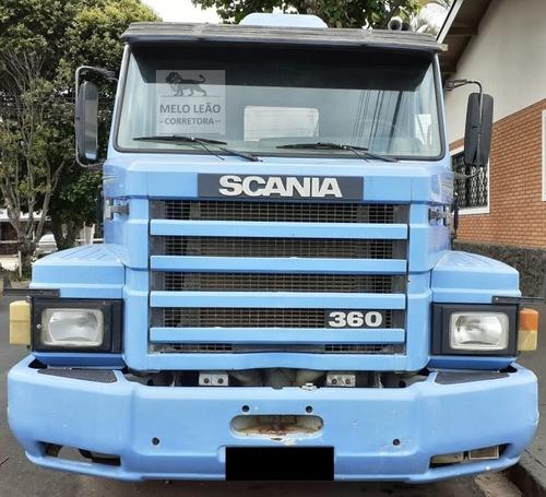 scania t-113 h 360 4x2 - 94/94 - cavalo toco, cabine leito *