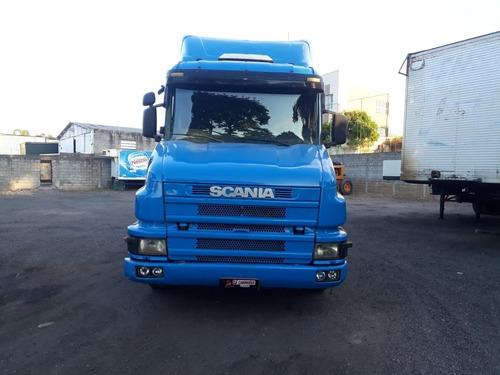 scania t114 4x2 360 + carreta 03 eixos facchini,so venda!!!