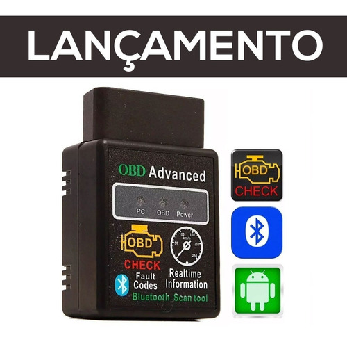 scanner automotivo bt obd2 volkswagen fox