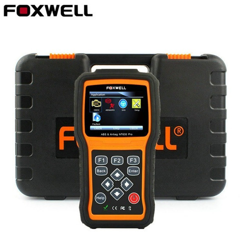 scanner automotivo foxwell nt630 pro reseta abs airbag obd2