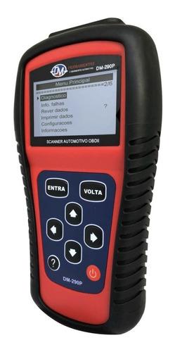 scanner automotivo leitor obdii original dm ferramentas