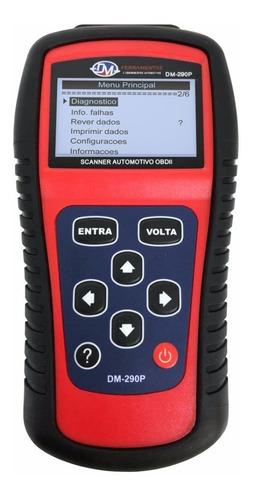 scanner automotivo obdii em português do brasil + cabo fiat