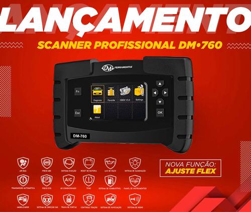 scanner automotivo profissional - português com ajuste flex