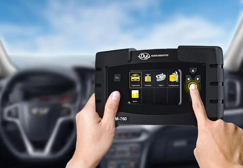 scanner automotivo raster obd2 com ajuste flex