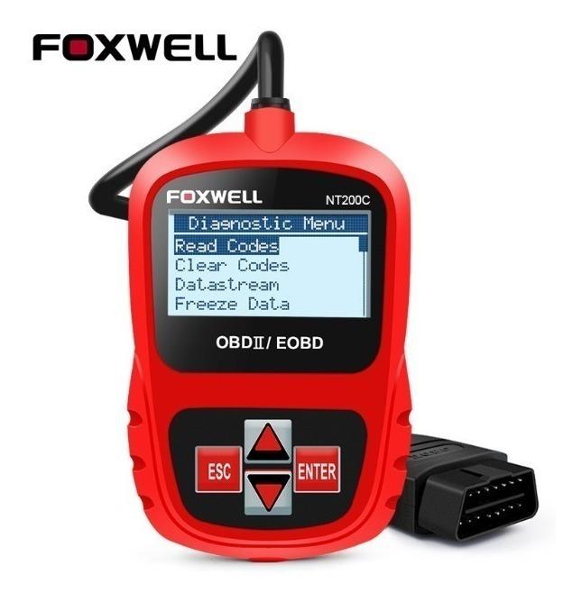 Scanner Automotivo Sensor 2 Foxwell Nt200c Obd2 Honda