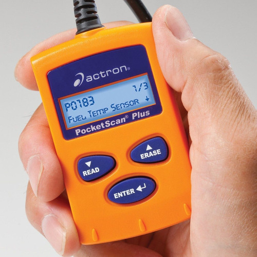 scanner automotriz actron cp9550 universal obd2 & can nuevo