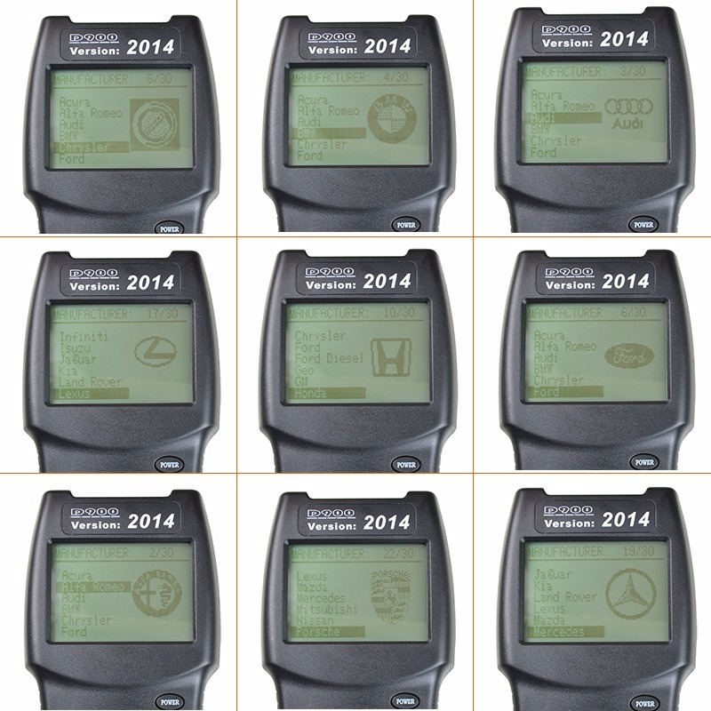 Scanner Automotriz Canbus D900 Eobd / Obd2 Multimarca