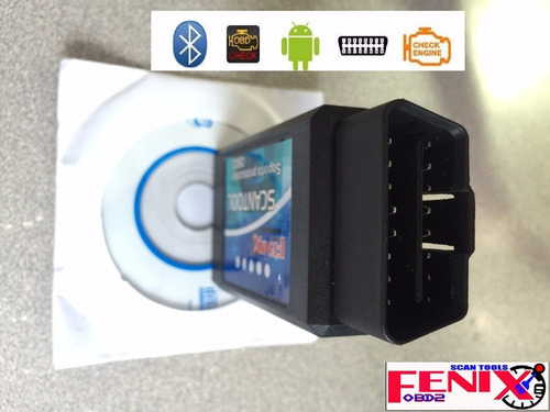 scanner automotriz elm327 multimarcas obd2+eobd+can