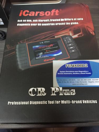scanner automotriz icarsoft crplus multimarcas multi modulos