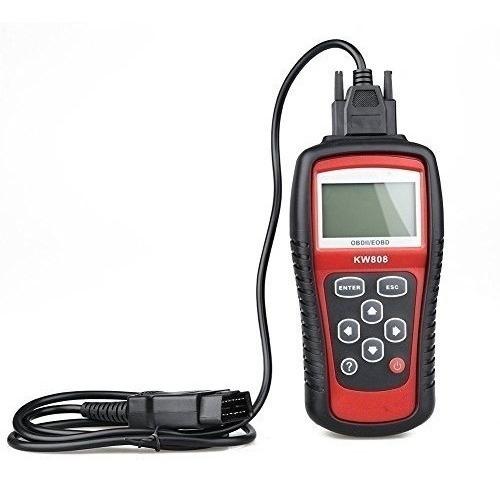 scanner automotriz kw808 multimarcas obdii/eobd