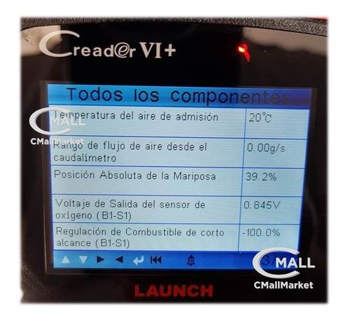 scanner automotriz launch obd2 can eobd jobd 12v 24v español