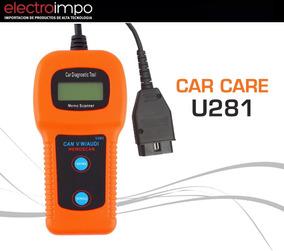 Scanner Automotriz Multimarca Car Care U 281 Abs Lector Obd2