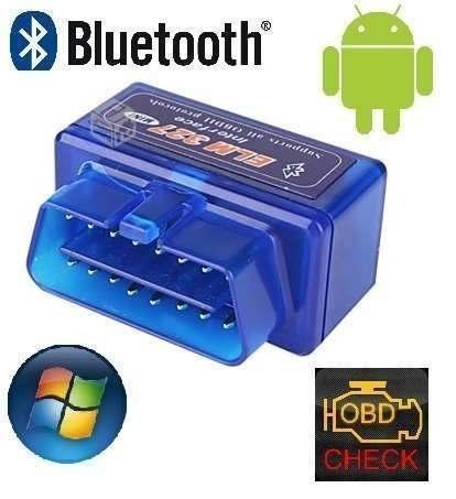scanner automotriz multimarca elm327 bluetooth obd2 v2.1