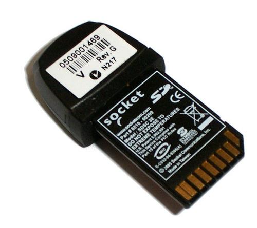 scanner código barras sd socket e3 sdio pda leitor