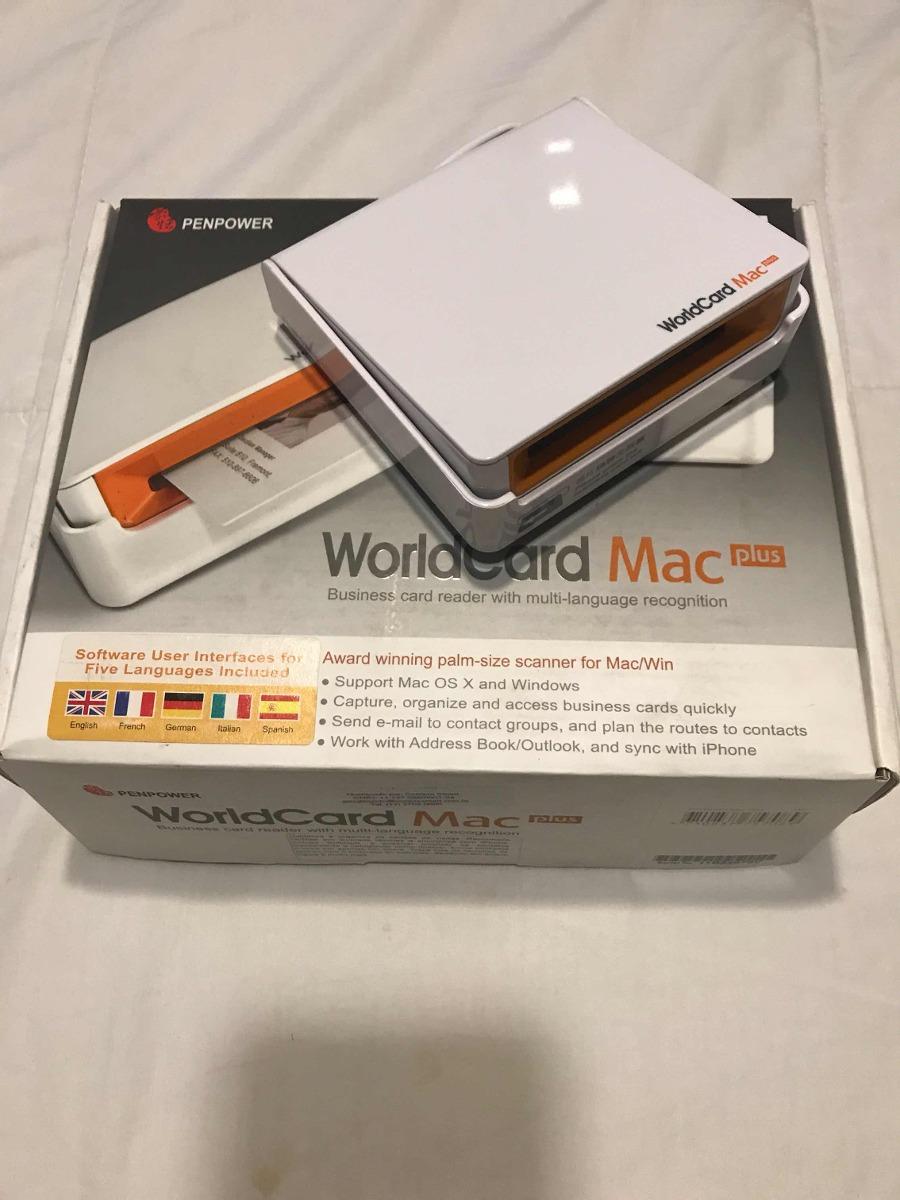 Scanner de cartes de visitas world card mac plus r 70000 em scanner de cartes de visitas world card mac plus carregando zoom reheart Gallery