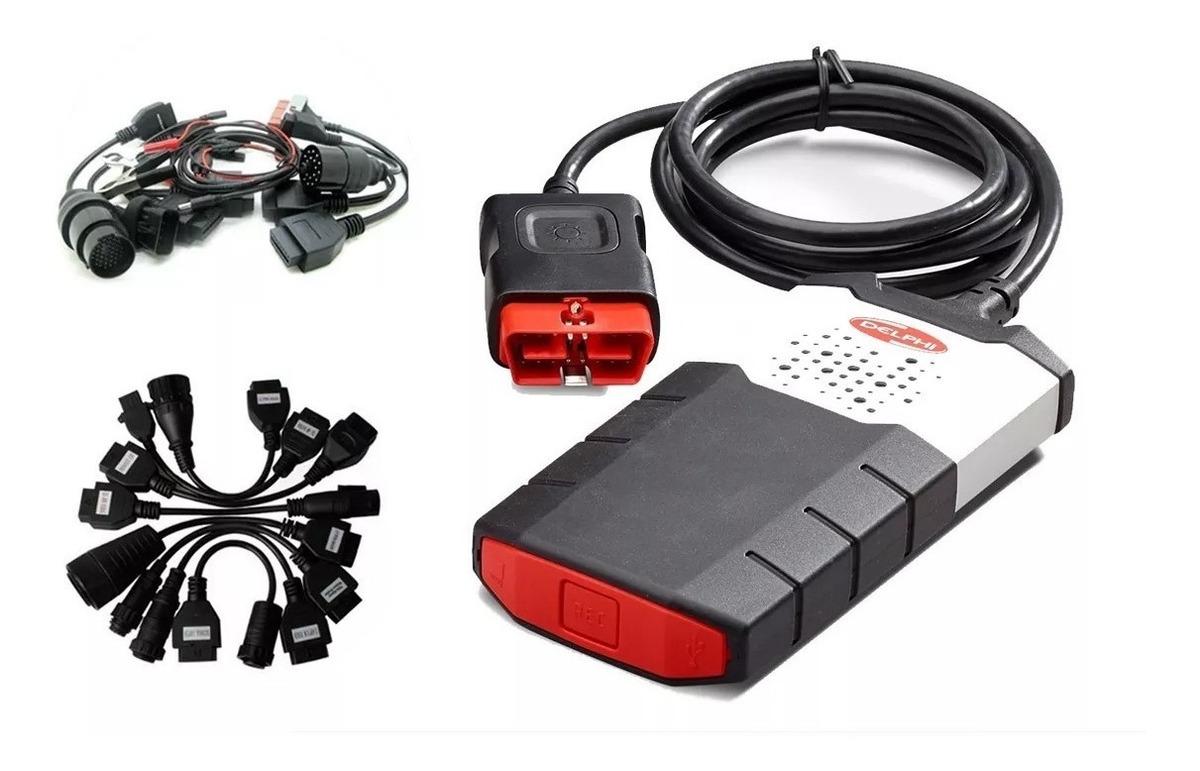 Scanner Delphi Ds150 + 16 Cables Auto Camiones + Wow Regalo