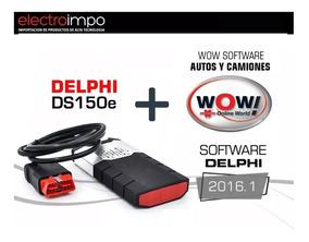 Scanner Delphi Softs Regalo: V2016 1 + Wow A 5008 C Cis V1 9