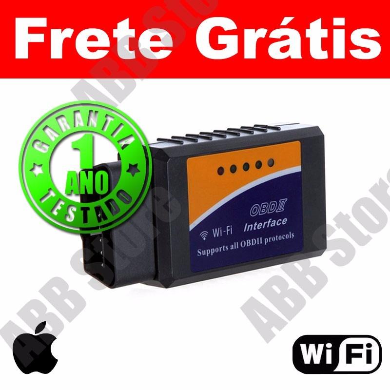 scanner diag auto obd2 wifi iphone ipad apple frete gr tis r 112 90 em mercado livre. Black Bedroom Furniture Sets. Home Design Ideas