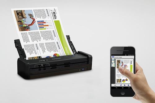scanner epson es-300w 25ppm duplex portatil usb 3.0 wifi