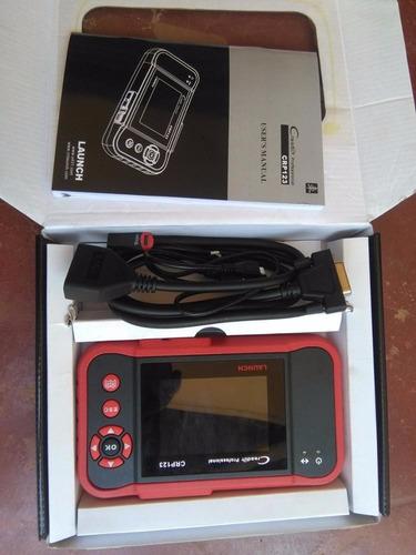scanner launch multimarca cpr123 promocion (por encargue)