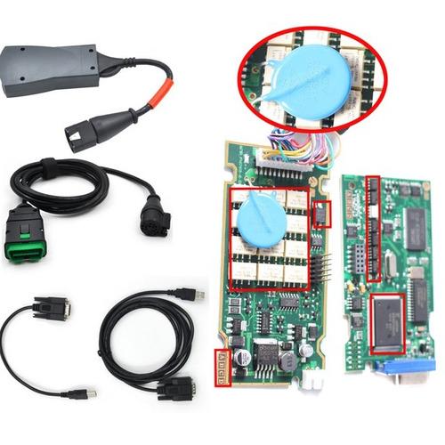 scanner lexia diagbox peugeot citroen + cables full kit