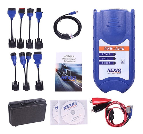 scanner multimarca para camiones nexiq 1 + software diesel