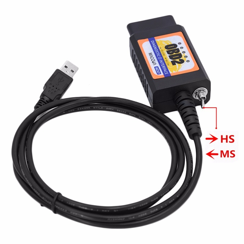 Scanner Mz327 Elm327 Forscan Ford Elmconfig Hs-can/ms-can
