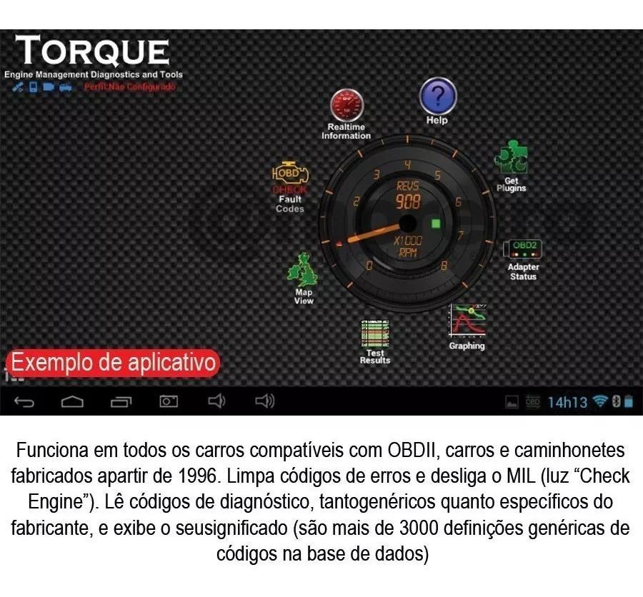 Scanner Obd2 Bluetooth Mini Origin Pronta Entrega Fg Torque