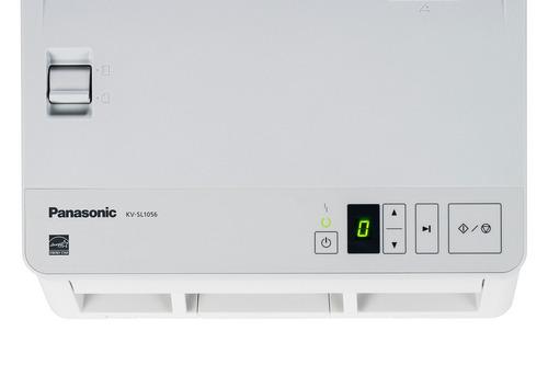 scanner panasonic kv-sl 1056 - 90 ppm frente/verso - novo