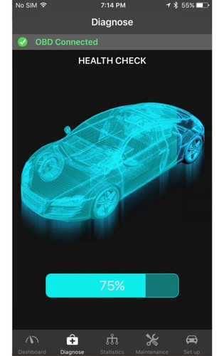 scanner para auto bluetooth obd pro ble 327 android iphone