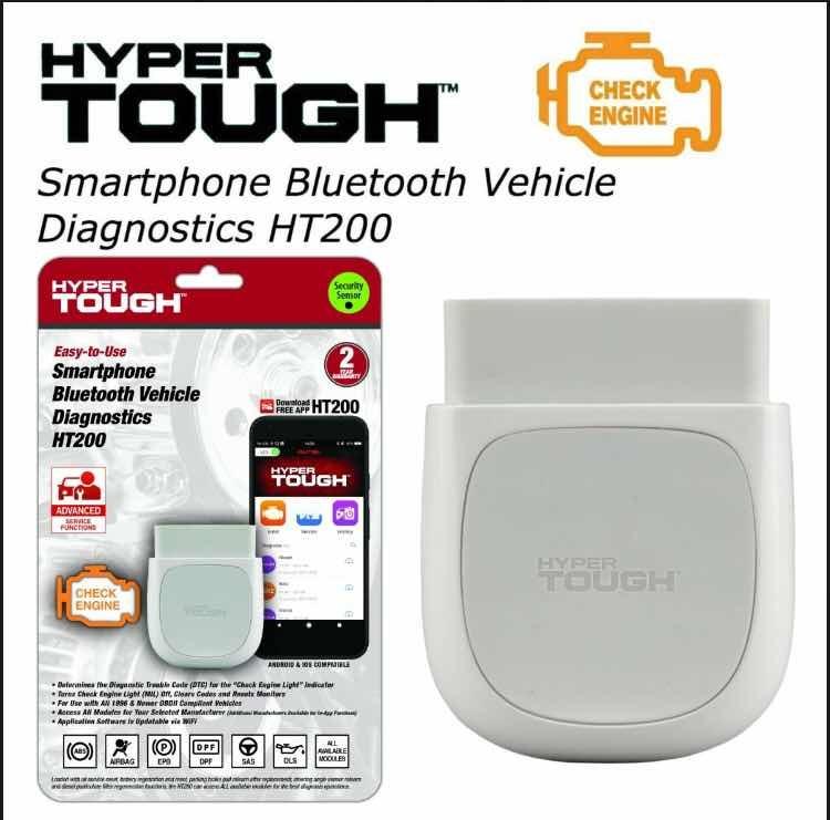 Scanner Para Auto Ht200 Hyper Tough Con App Envío Gratis