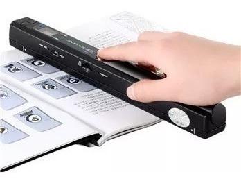 scanner portatil de mão wireless alta resolução usb m sd pdf