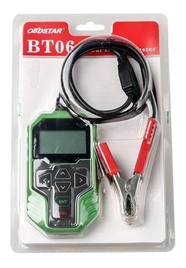 Comprobador de bater/ía para autom/óviles 12 V y 24 V OBDSTAR BT06