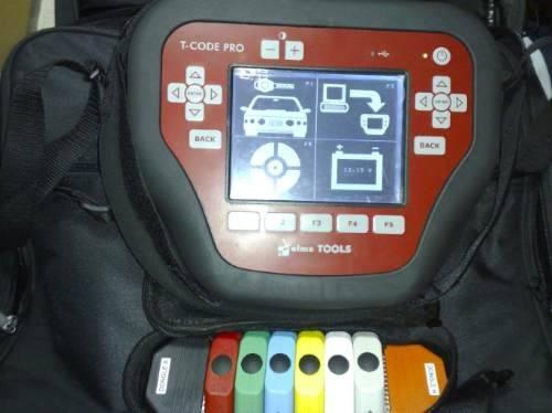 scanner programador de llaves para vehiculos con chip t code
