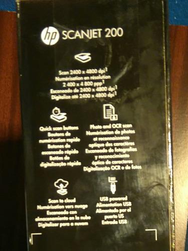scanner scanjet 200