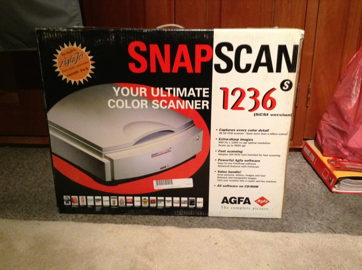 AGFA SnapScan 600 FotoLook Driver for Mac Download