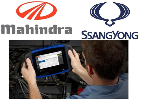 scanner ssangyong mahindra xuv servicio domicilio santiago
