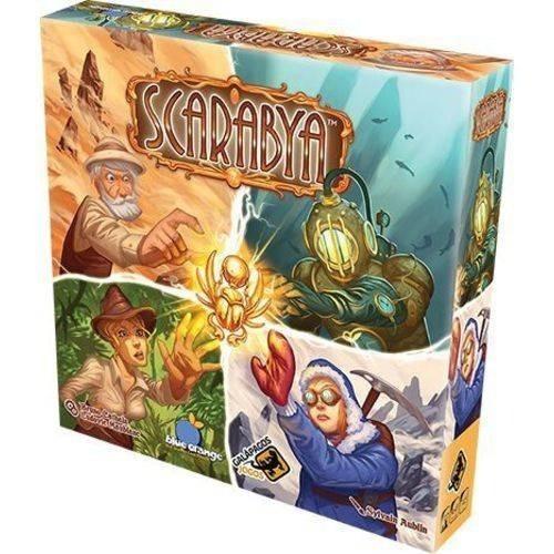 scarabya - jogo de tabuleiro - galápagos português lacrado