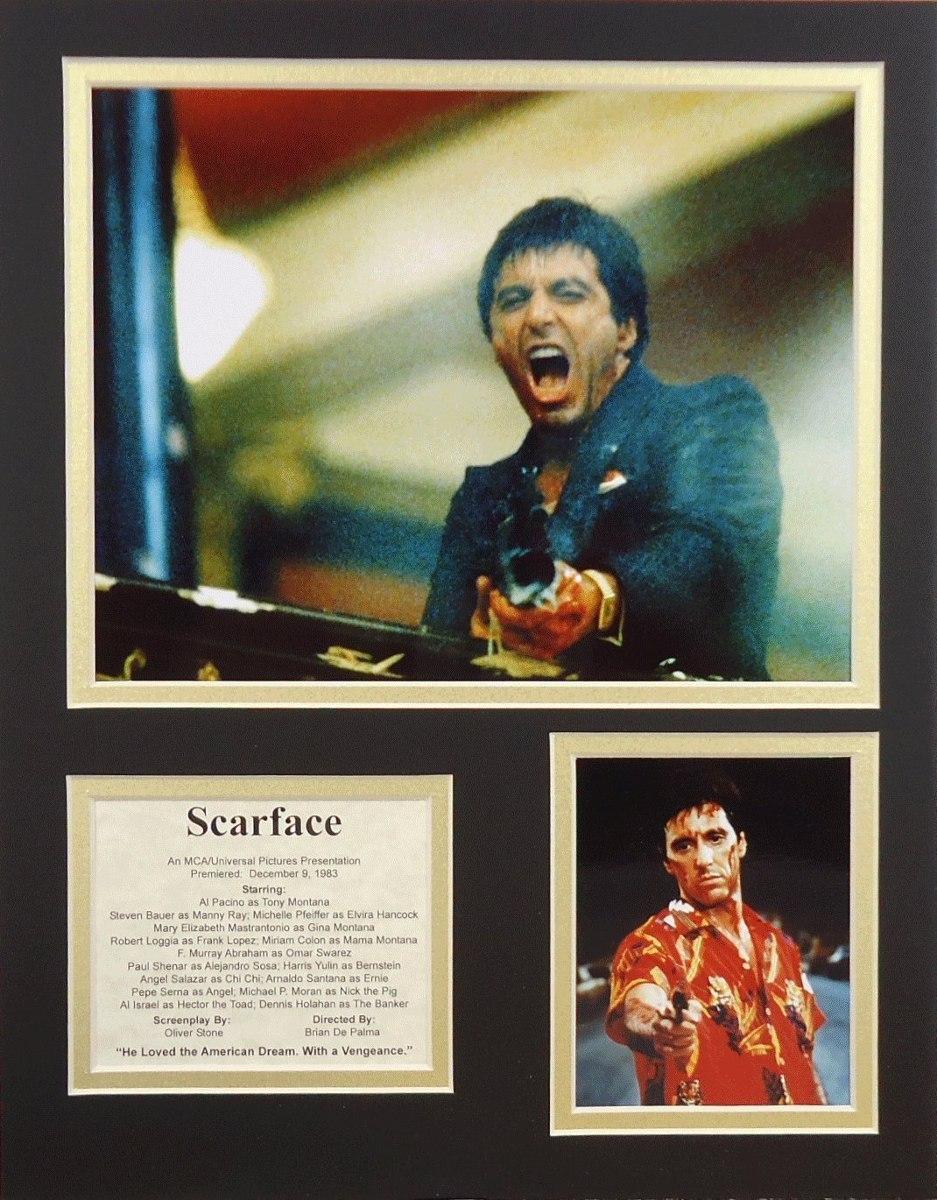 Scarface 11 X 14 Collage De Fotos Enmarcadas Sin Marco ...