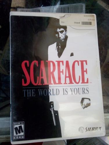 scarface / /juego nintendo wii & wii u