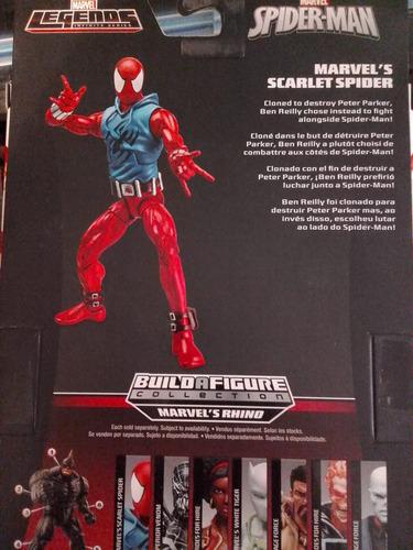scarlet spider marvel legends spiderman original