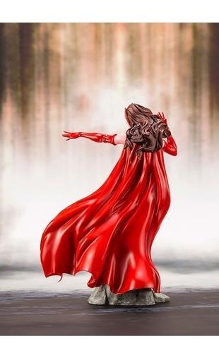 scarlet witch marvel avengers artfx+ statue bonellihq c19
