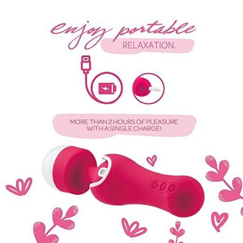 scarlett masajeador impermeable terapéutico vibrador girator