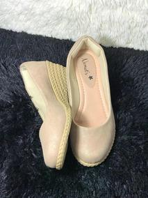 e5cfaf78a1 Sapato Boneca Salto Anabela Da Feminino - Sapatos no Mercado Livre Brasil